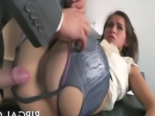 Clothed Forced Hardcore Teen