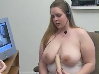 Big Tits Chubby Dildo  Natural Toy
