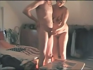 Amateur European German Handjob Homemade  Wife