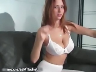 Big Tits Lingerie Natural Cheerleader