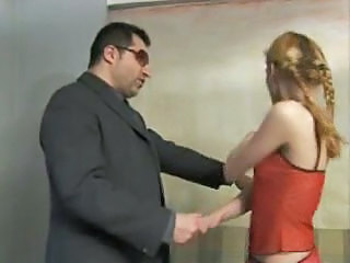 Blonde Daddy European Italian Old and Young Pigtail Teen Italian
