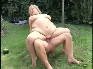 Blonde Hardcore  Outdoor Riding