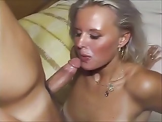 Amateur Blonde Blowjob Cute European German Wife German
