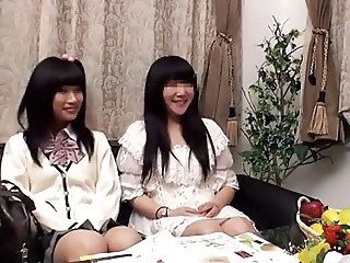 Asian Teen Twins Sister