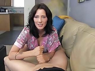 Brunette Cute Handjob