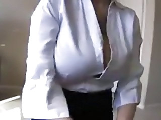 Amateur Big Tits Office Secretary Jerk Amateur