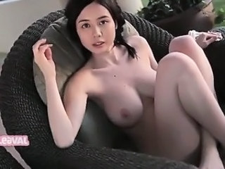 Asian Babe Big Tits Brunette Cute Korean Natural