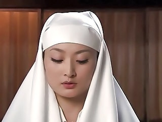 Asian Babe Cute Nun Uniform Torture