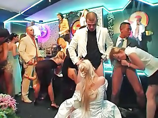 Blowjob Bride Clothed Groupsex Orgy Party Swingers