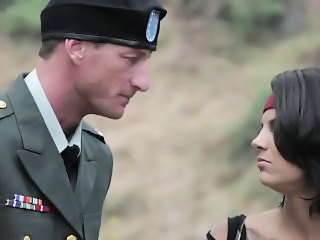 Army Outdoor Pornstar