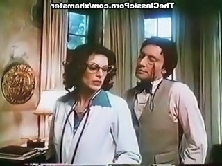 Brunette Doctor Glasses Mature Older Pornstar Uniform Vintage