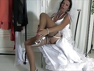 Bride Legs  Stockings Nylon