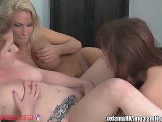 Lesbian  Old and Young Pornstar