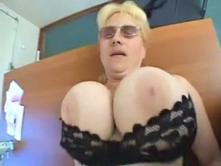 Big Tits Blonde Glasses  Office Secretary