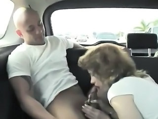 Blowjob Car Clothed Mature Mom Old and Young