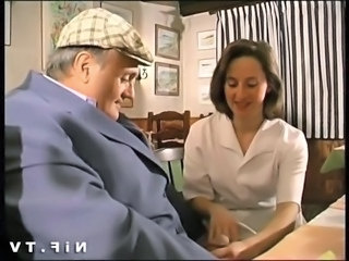 Daddy European French Handjob Old and Young Teen French