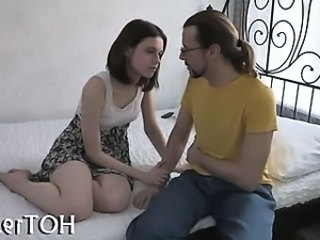 Russian Sister Teen Drilled