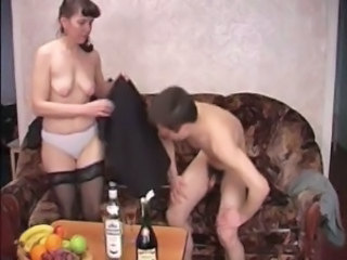 Amateur Drunk Mature Mom Old and Young Panty Russian