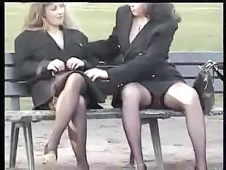 Outdoor Public Secretary Stockings Upskirt Voyeur Public