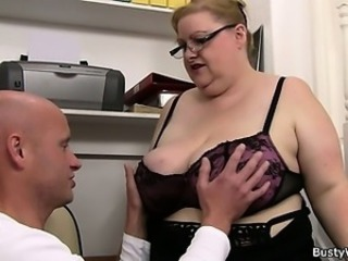 Big Tits Glasses Lingerie Mature Mom Old and Young Huge