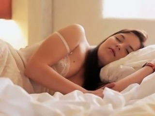 Cute Lingerie Sleeping Teen