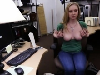 Amateur Blonde Cute  Office Cheerleader Amateur