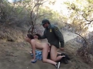 Army Doggystyle Hardcore Outdoor Teen