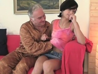 Daddy Daughter Old and Young Russian Teen