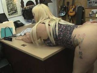 Amateur Blonde Clothed   Office