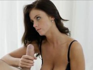 Amazing Cute Handjob  Son Stepmom Mom Son