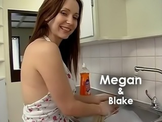Babe Cute Kitchen  Wife