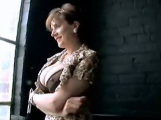 Big Tits British European Mature Mom Nipples