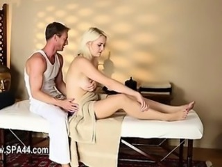 Blonde Massage  Massage Milf Milf Ass