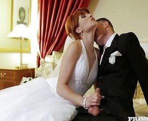 Bride Kissing  Wife Married