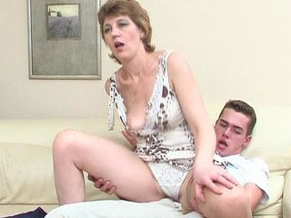Mature Mom Old and Young Panty Riding