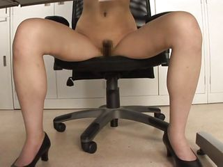 Asian Hairy Japanese Office Pussy High Heels Hairy Japanese Japanese Hairy Boss Office Pussy