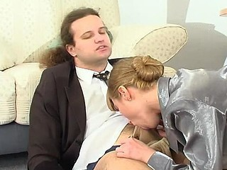 Blowjob Office Russian Secretary Boss