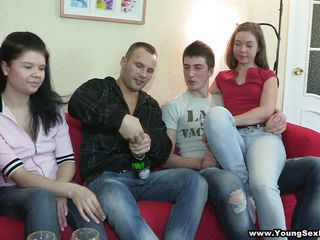 Cute Drunk Groupsex Party Russian Teen