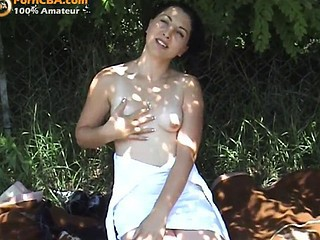 Amateur Nudist Outdoor Small Tits Solo Stripper Teen