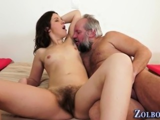 Daddy Daughter Family Hairy Old and Young Pissing Small Tits Teen Kinky