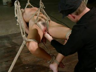 Bondage Fisting Pain Pussy Shaved Tied