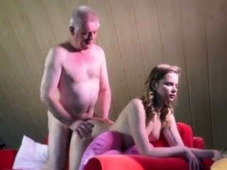 Daddy Daughter Doggystyle Family Old and Young Teen Rimming