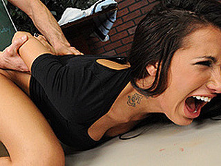 Brunette Doggystyle Forced Hardcore Student Tattoo Teacher Punish Babe Ass Doggy Ass College Teacher Student Forced