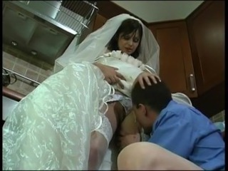 Bride Kitchen Licking Stockings Teen