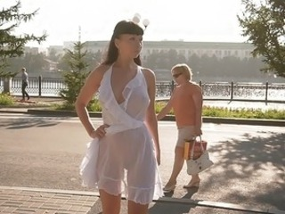Nudist Outdoor Public Teen Dress Public