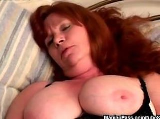 Chubby Mature Natural Redhead Dirty