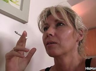 Fetish Lesbian Mature Smoking Caught