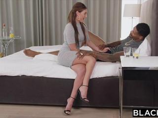Amazing Babe Interracial Pornstar