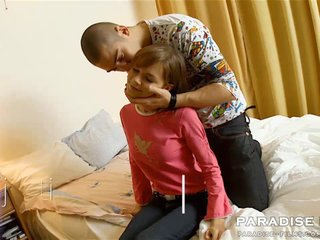Cute Kissing Teen Virgin