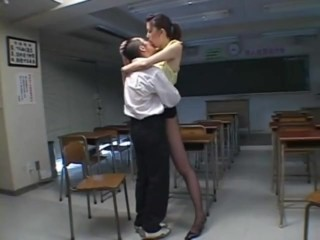 Asian Daddy Daughter Japanese Kissing Old and Young